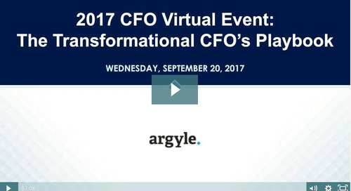 The Transformational CFO's Playbook