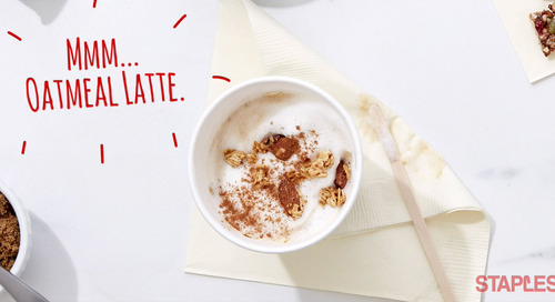 A Quick Hack to Start Your Day Off with an Oatmeal Latte