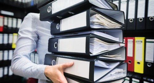 5 Steps to Improve Your Office Filing System
