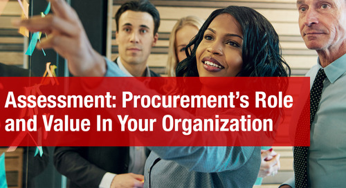 Assessment: Procurement's Role and Value In Your Organization