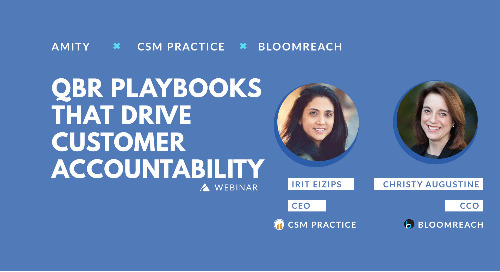 QBR Playbooks That Drive Customer Accountability