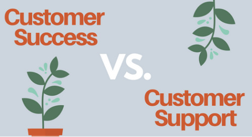 [Infographic] Customer Success vs. Customer Support