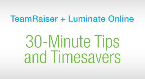 RECORDED WEBINAR: Best Practices to Optimize Your Online Donation Form