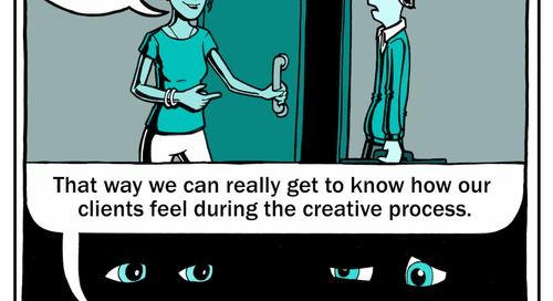How NOT to do Creative Services: Cartoon #2
