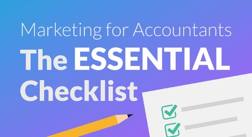 Marketing for Accountants: The Essential Checklist