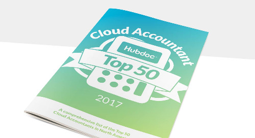 Get to Know the Top 50 Cloud Accountants of 2017 (North America)