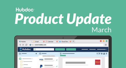 March Product Update: Better, Faster Data Extraction