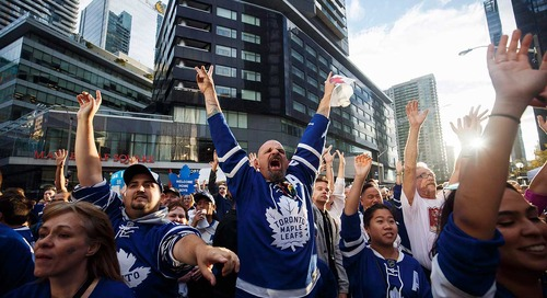 The Epicness of Toronto Sports Fans