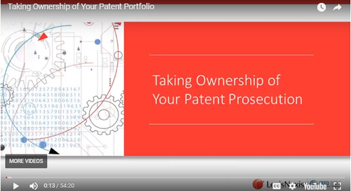 Webinar: Taking Ownership of Your Patent Portfolio