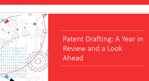 Webinar: Patent Drafting: The Year in Review and a Look Ahead