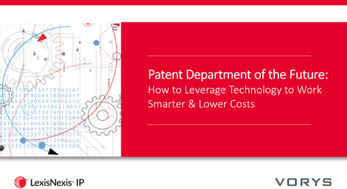 Webinar: The Patent Department of the Future