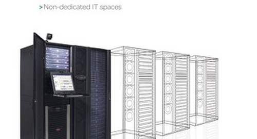 11 IT challenges solved by InfraStruxure solutions for server rooms and network closets