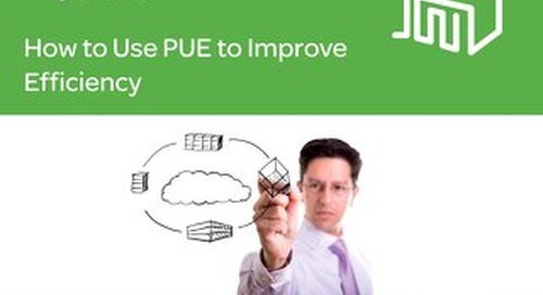 How to use PUE to improve efficiency