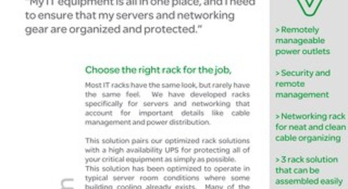 Effective Strategies for Tight IT Spaces