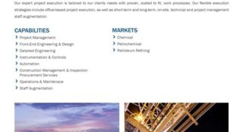 Petrochemical and Refining Services