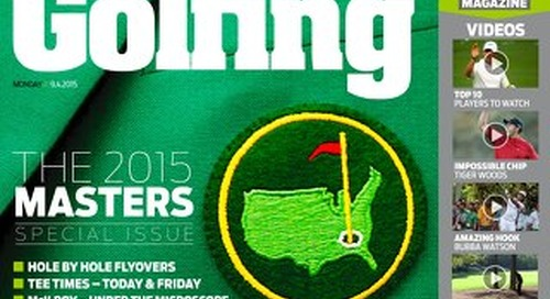 Thursday 9th April 2015 - The Masters