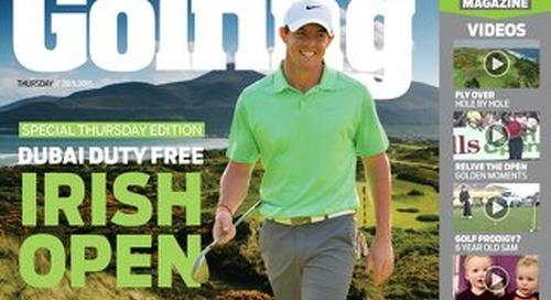 Thursday 28th May 2015 - Irish Open