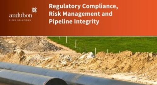 Regulatory Compliance, Risk Management and Pipeline Intregity