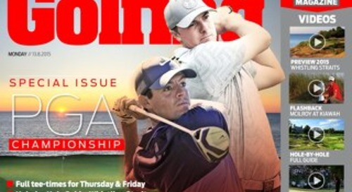 Thursday 13th August 2015 - PGA Championship