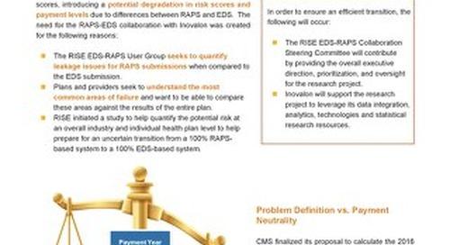 RISE RAPS/EDS Data Sheet