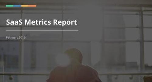 5th Annual SaaS Metrics Report
