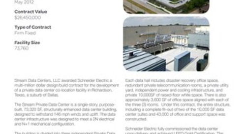 [Case Study] Stream Data Centers' private colocation facility