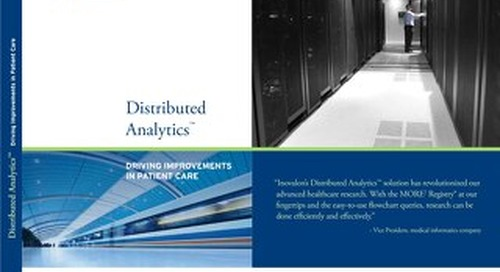 Distributed Analytics