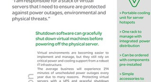 Optimized Management and Safe Shutdown for Virtualized Server Rooms