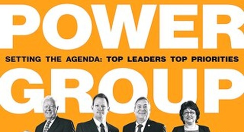 GM Issue 1 - Power Group Setting The Agenda: Top Leaders Top Priorities