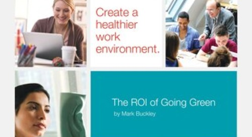 ROI of Going Green - A facility manger's guide