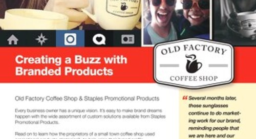 Creating a Buzz with Branded Products