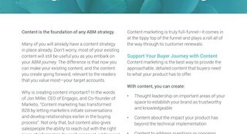 How to Create a Full-Funnel Content Strategy for Account-Based Marketing