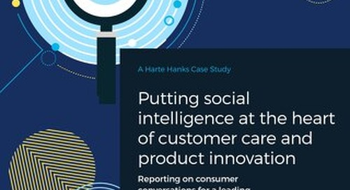 How Social Listening Drives Customer Experience for Electronics Brand