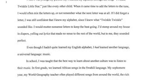 2016 Winning Tri-M Essay