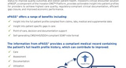 ePASS®: Data-Driven, Point-of-Care Intervention Platform
