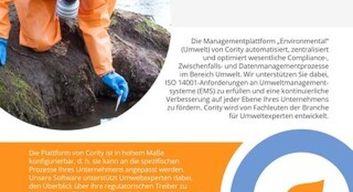 EHSQ Überblick - Umwelt