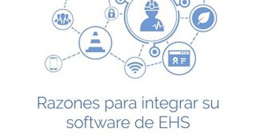 Razones para integrar su software de EHS