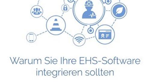 Warum Sie Ihre EHS-Software integrieren sollten