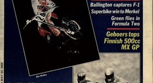 Cycle News 1986 05 28