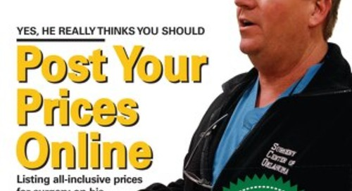 Post Your Prices Online - September 2013 - Outpatient Surgery Magazine - Subscribe