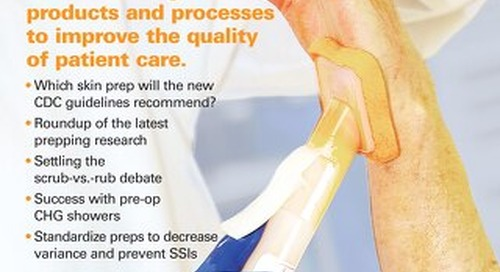 Manager's Guide to Patient Skin Preparation - February 2014