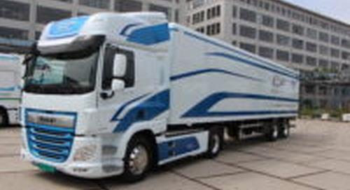 EU: Uitstoot van vrachtwagen met 15 procent verminderen