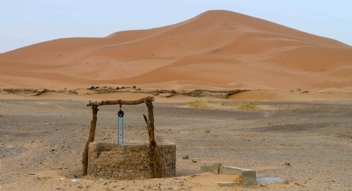 Water crises among top 10 world risks, says Davos report