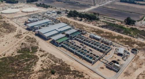 IDE pays $53.3 million for 49 per cent of Sorek desalination plant