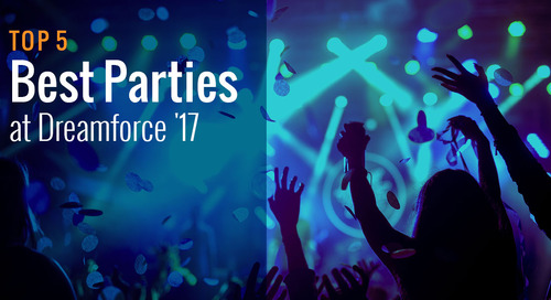 Top 5 Best Parties at Dreamforce '17