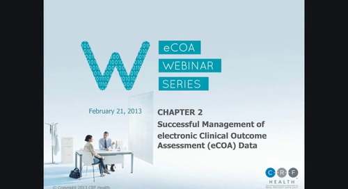 Successful Management of eCOA Data