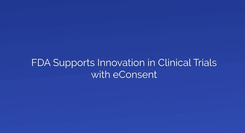 FDA Supports Innovation in Clinical Trials with eConsent