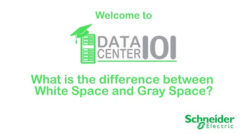 What is the difference between white space and gray space?