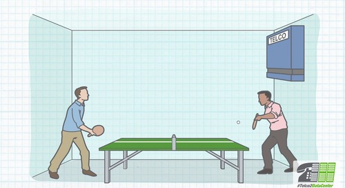 Telco to Data Center - Ping-Pong