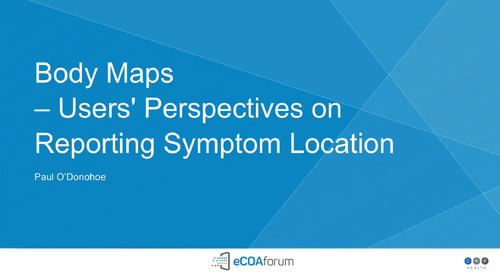 Body Maps: User Perspectives on Reporting Symptom Location